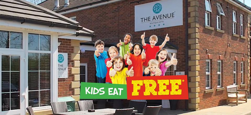 Kids eat FREE at the Avenue