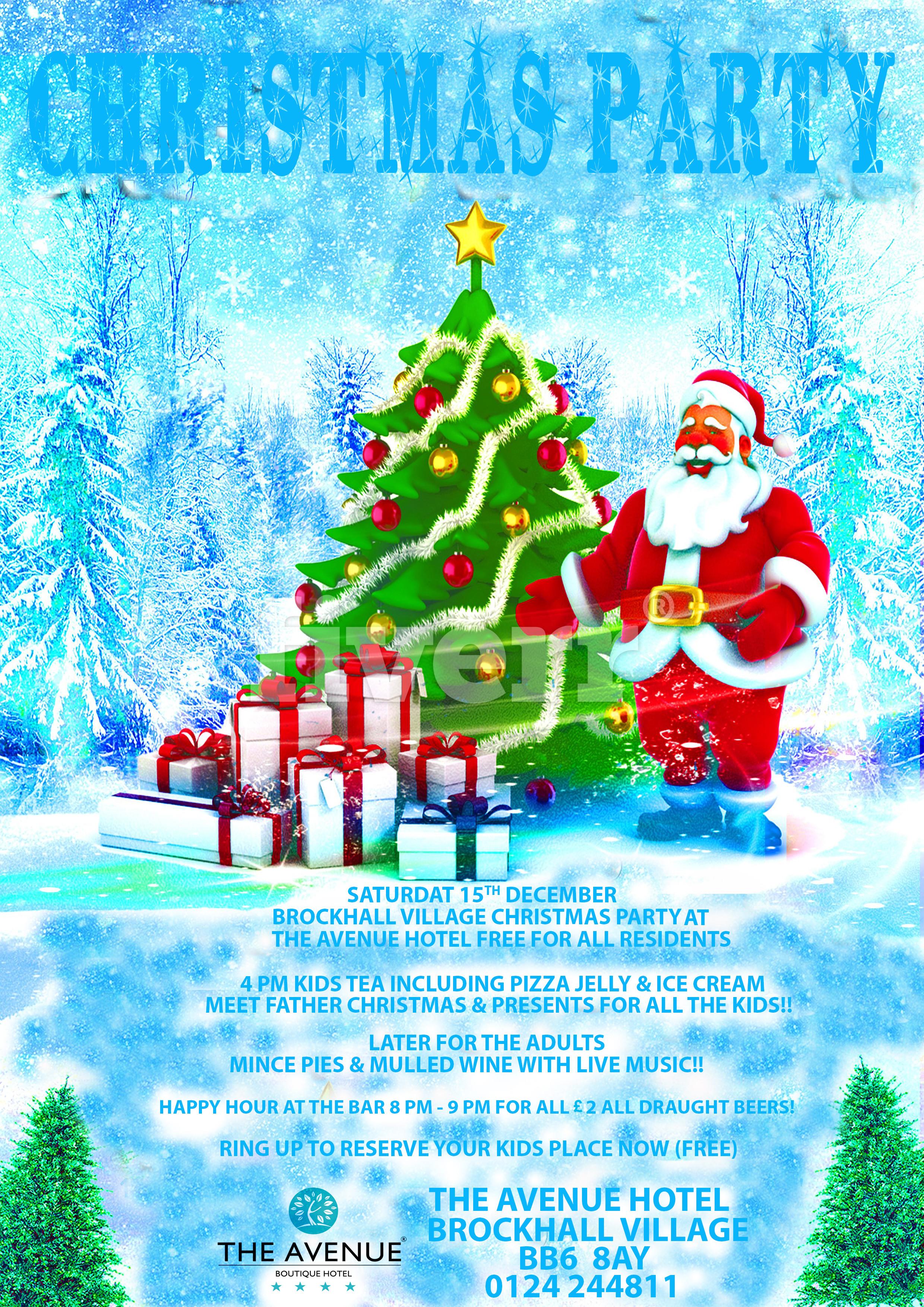 Come see Santa down @The Avenue Hotel!