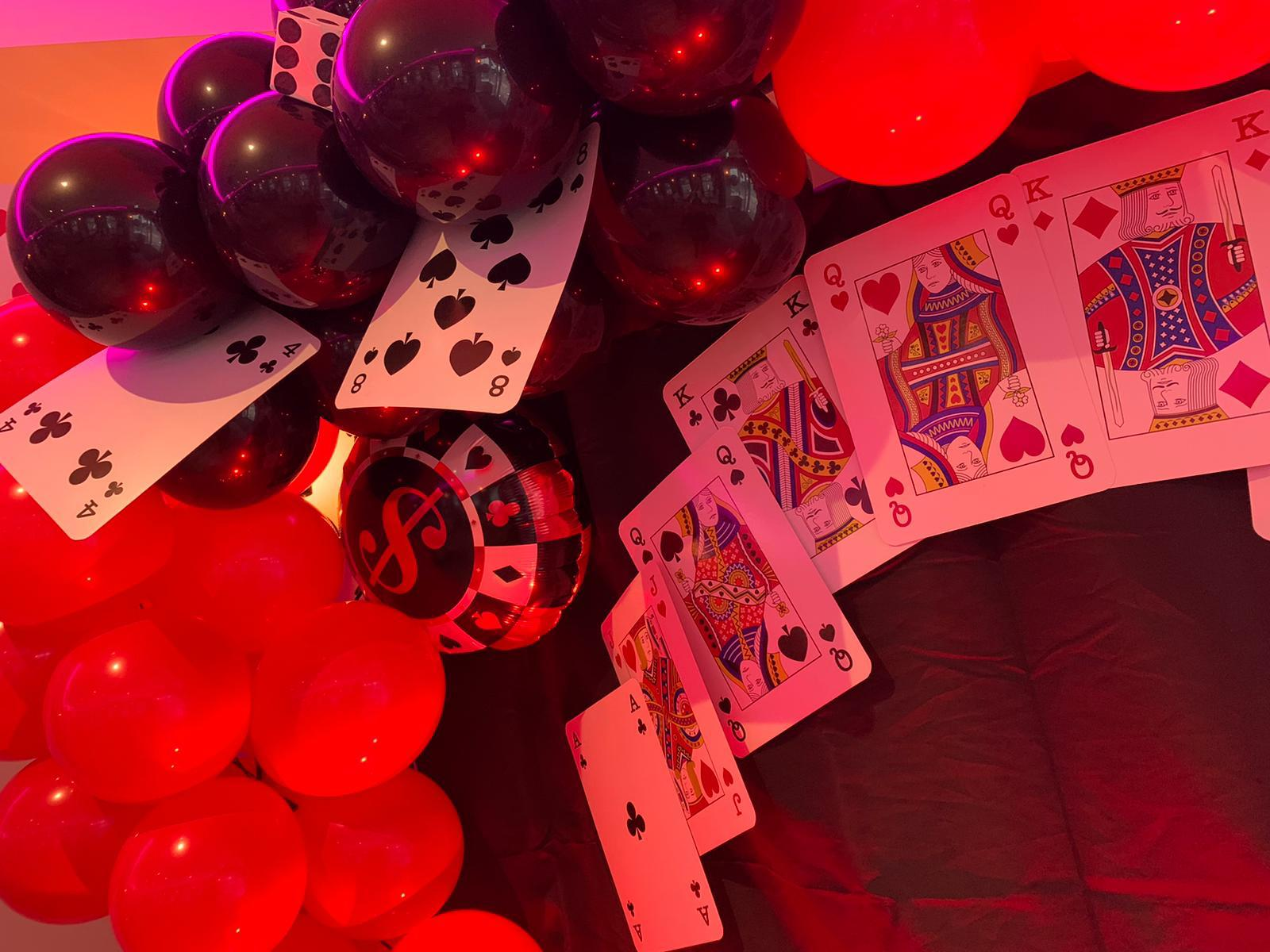 Our Latest 21st Birthday Function (casino themed!)