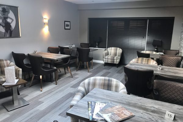 Brand new seating and dining area within the Avenue Hotel